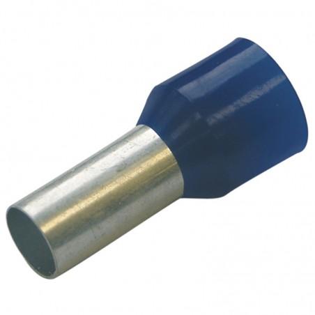 Haupa 270810 HTI - 2,5/8 końc. tulejkowa izol niebieska