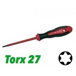 Śrubokręt 2 K VDE z prowadnicą TX 27