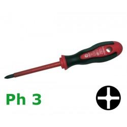 Śrubokręt krzyżakowy 2 K VDE Ph3